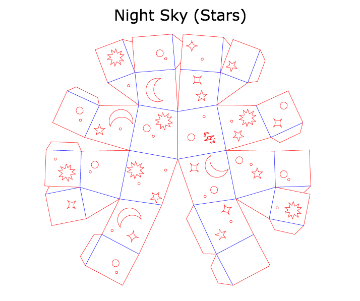 Night Sky (Stars) Template